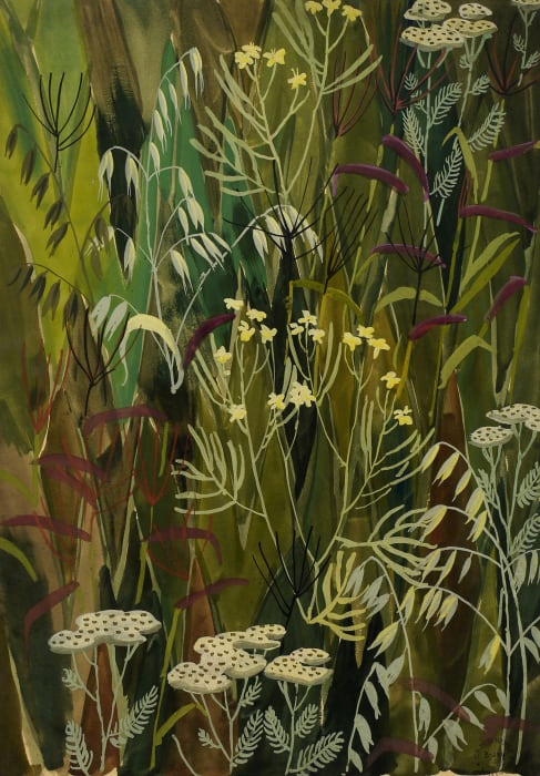 Wallpaper Design No. 3 by Charles Burchfield