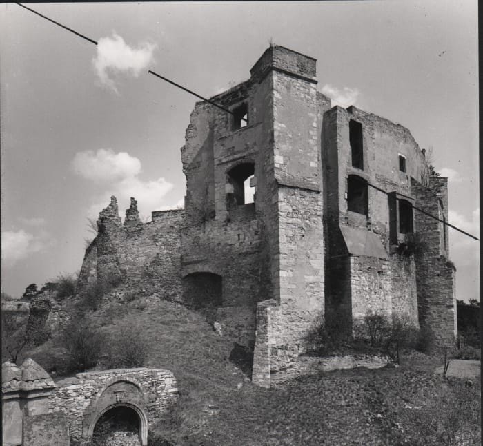 "untitled, from the series ""Interpreted by Line"" by Dalibor Chatrný"
