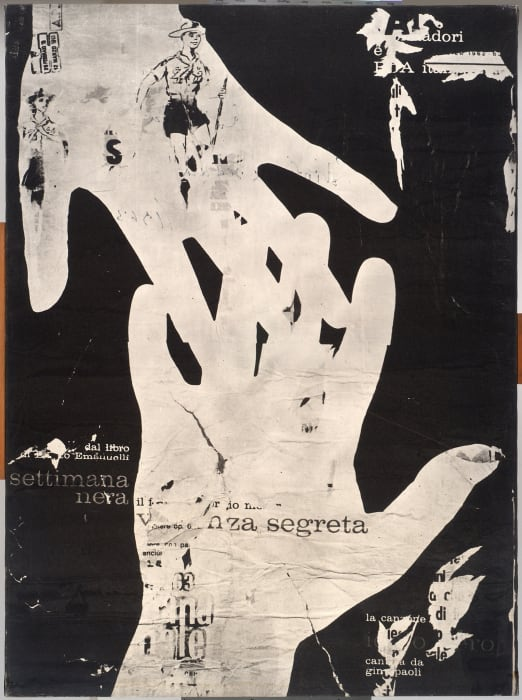 Violenza Segreta by Mimmo Rotella