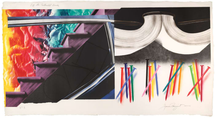 Off the Continental Divide by James Rosenquist