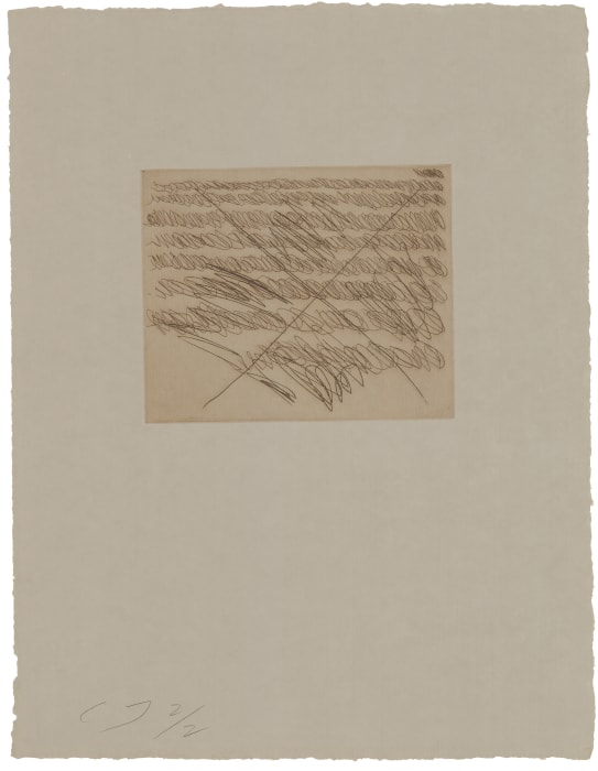 Note II by Cy Twombly