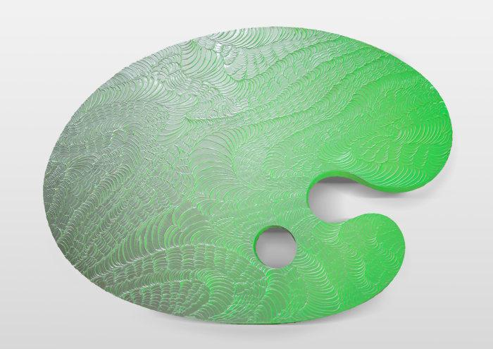 调色板—空调绿 / Palette—AC Green by Guan Xiao