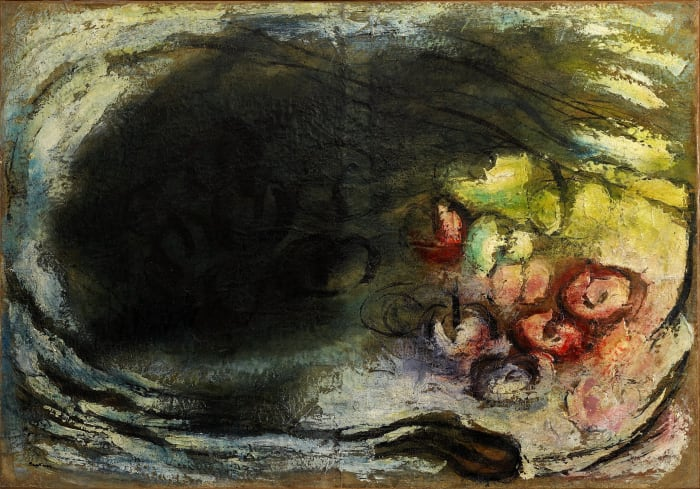 Les pommes (Le jour et la nuit) by Jean Fautrier