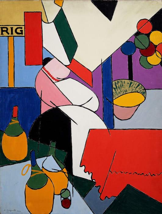 La Foire by Alberto Magnelli