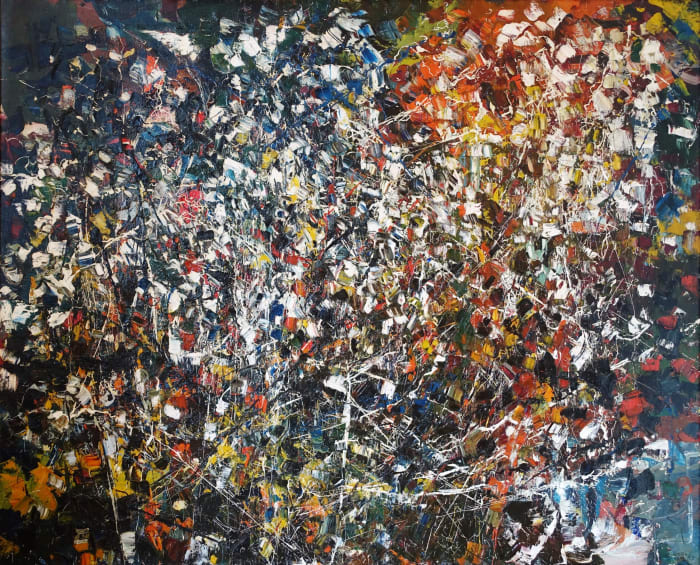 Untitled by Jean-Paul Riopelle