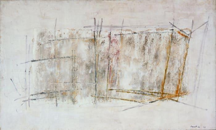Cube de glace by Jean Fautrier