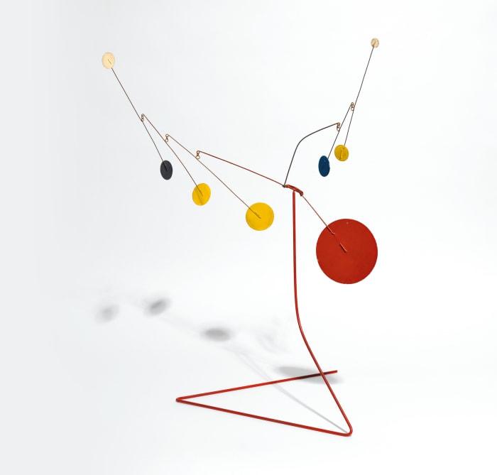 Petit Mobile sur Pied by Alexander Calder