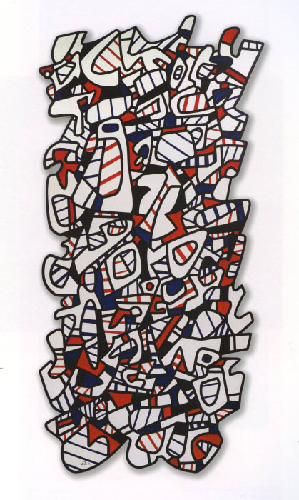 Tour (Tower) by Jean Dubuffet