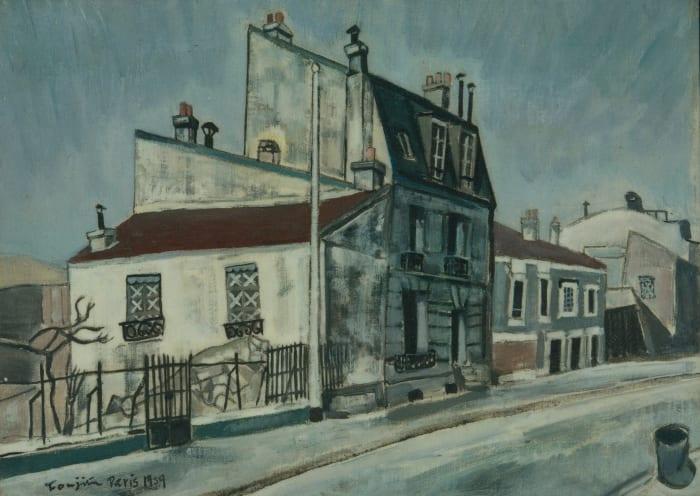 Paris suburbs by Leonard Tsuguharu Foujita
