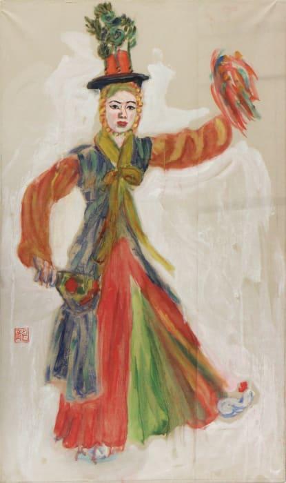 Choi Seung-hee's dance by Ryuzaburo Umehara