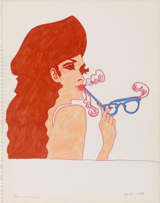 Smoke Gets in Your Eyeglasses by Karl Wirsum