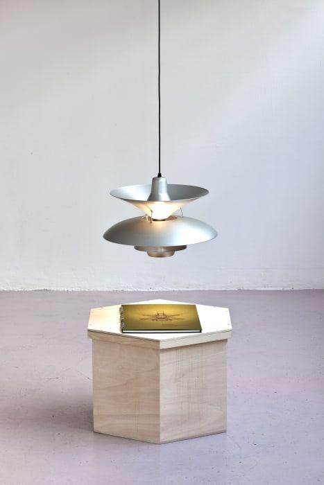 27 Homemade Henningsen Lamps — + 1 average lamp by Simon Starling