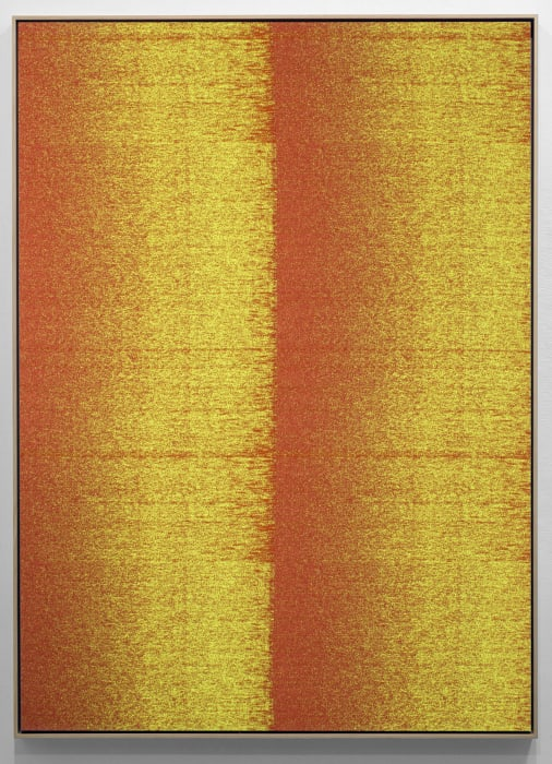 Negative Entropy (New York University Central Data Center, Orange, Quad) by Mika Tajima