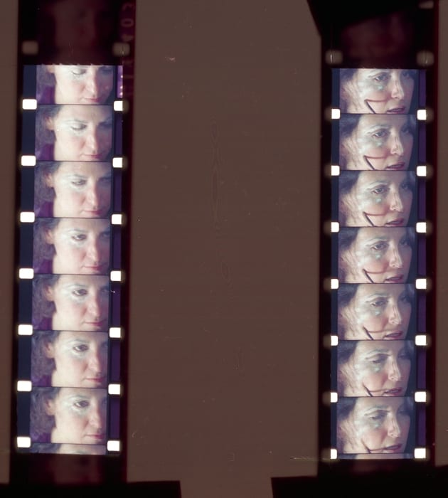 Constructing Roberta (film still, film by Eleanor Coppola) by Lynn Hershman Leeson
