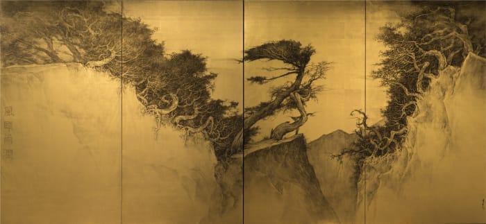 Enchanting Breeze and Nourishing Rain II by Huayi Li