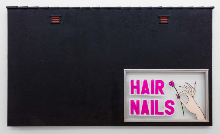 Hair Nails by Pentti Monkkonen