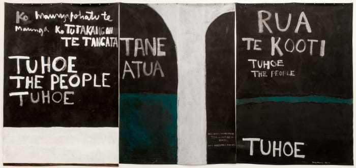 Urewera Triptych by Colin McCahon