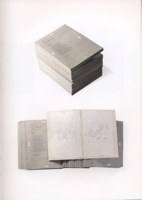 Dossier Postale by Alighiero Boetti