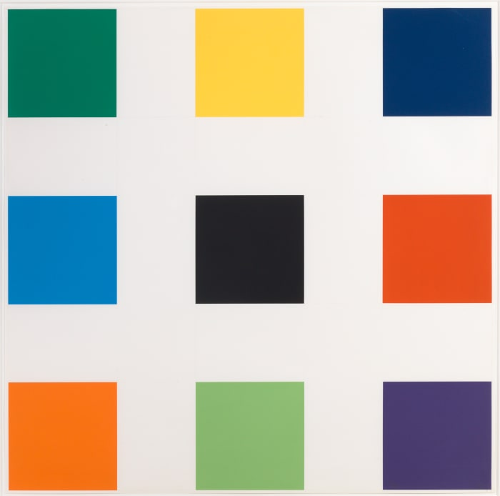 Nine Squares by Ellsworth Kelly