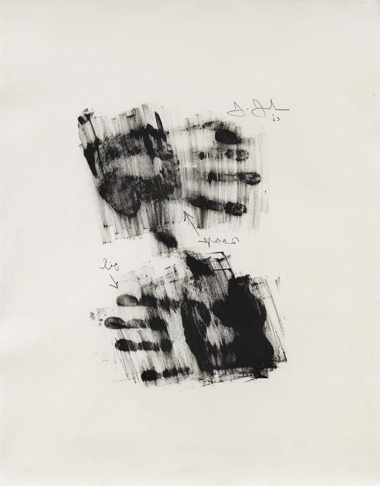Hand by Jasper Johns