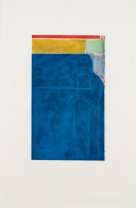 Large Bright Blue by Richard Diebenkorn