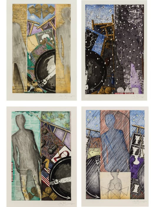 Seasons (ULAE 238 - 241) by Jasper Johns