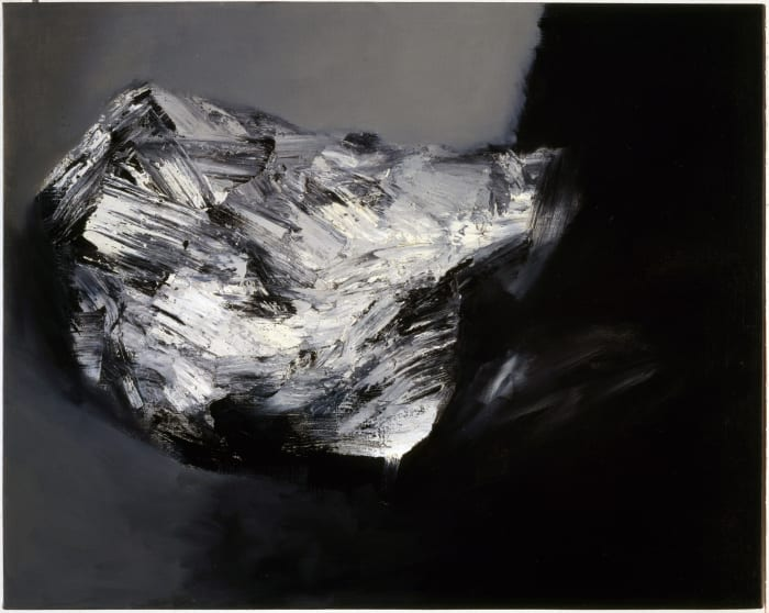 Bright Square Cloud by Jay DeFeo