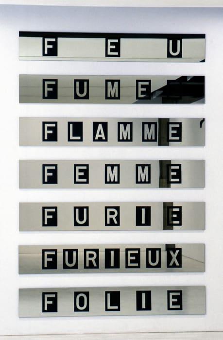 La déclinaison du feu by Lea Lublin