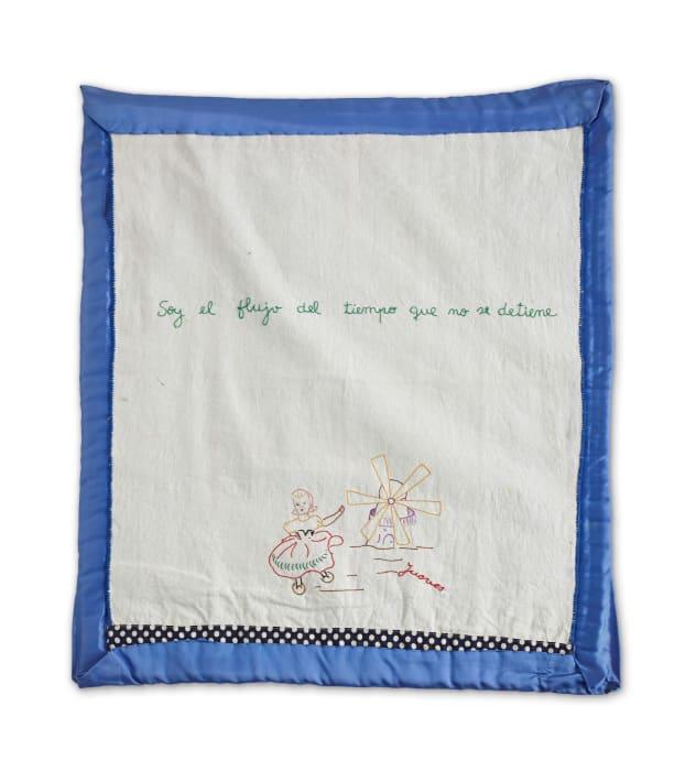 Soy el flujo del tiempo que no se detiene (Blankets Series) by Feliciano Centurión