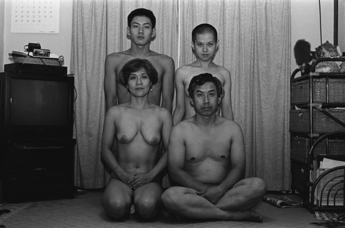 Self-Portrait (Family #26) by Yurie Nagashima
