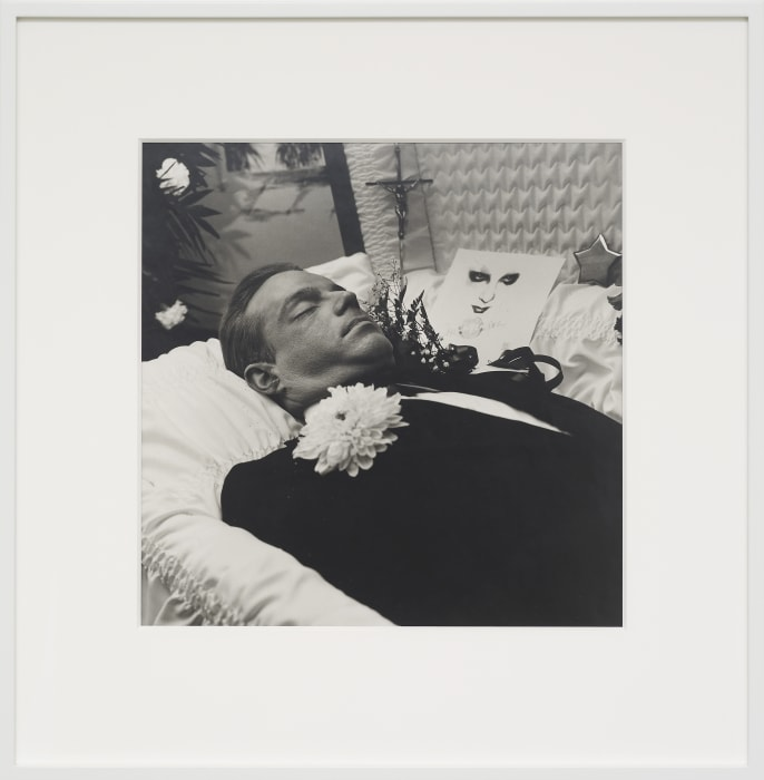 Jackie Curtis Dead by Peter Hujar