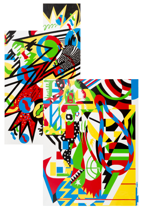 Genderless abstraction benzo by assume vivid astro focus