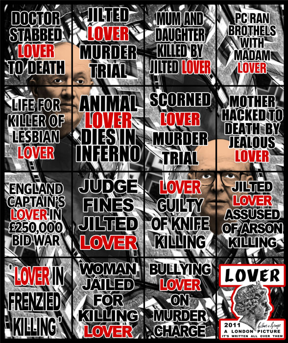 Lover by Gilbert & George