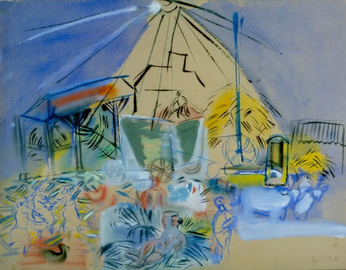 Depiquage by Raoul Dufy