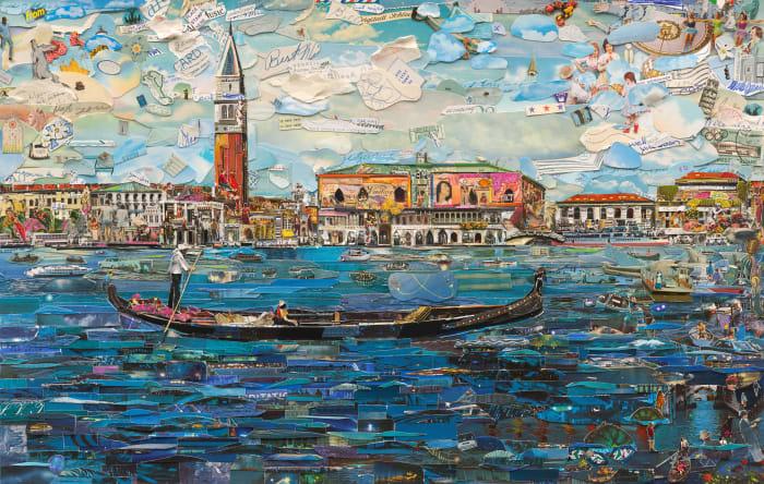Venice by Vik Muniz