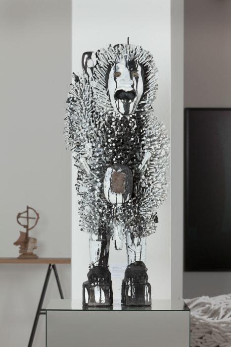 Mutus Liber (Fetish) 80 by Kendell Geers