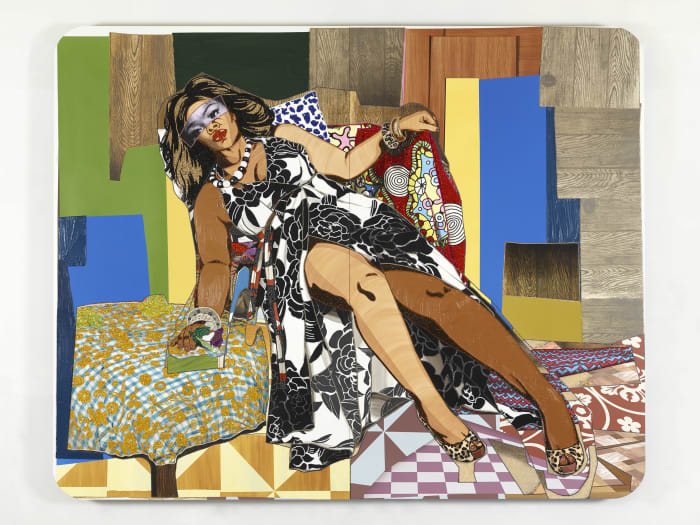 She Ain't a Child No More #2 by Mickalene Thomas