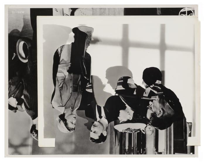 Double Shadow L by John Stezaker