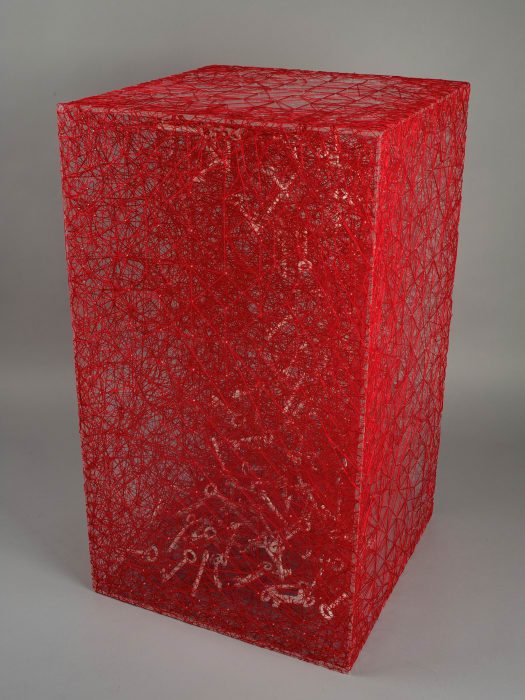 State of Being (Keys) by Chiharu Shiota