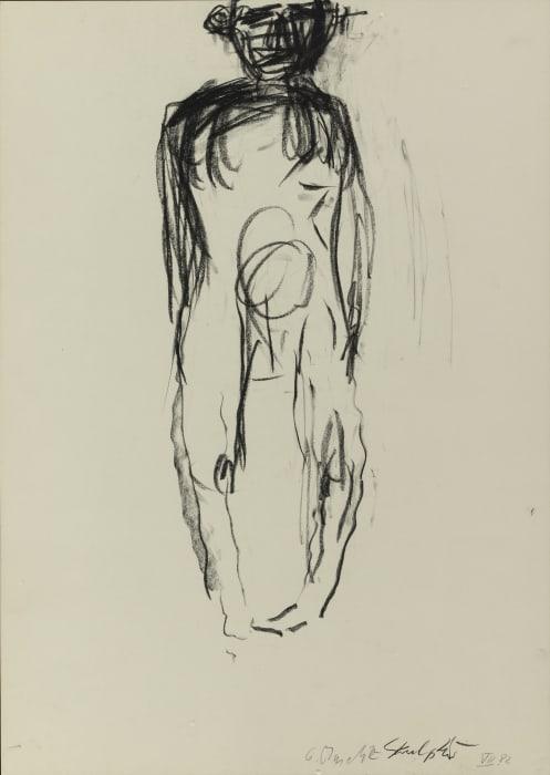 Skulptur I by Georg Baselitz