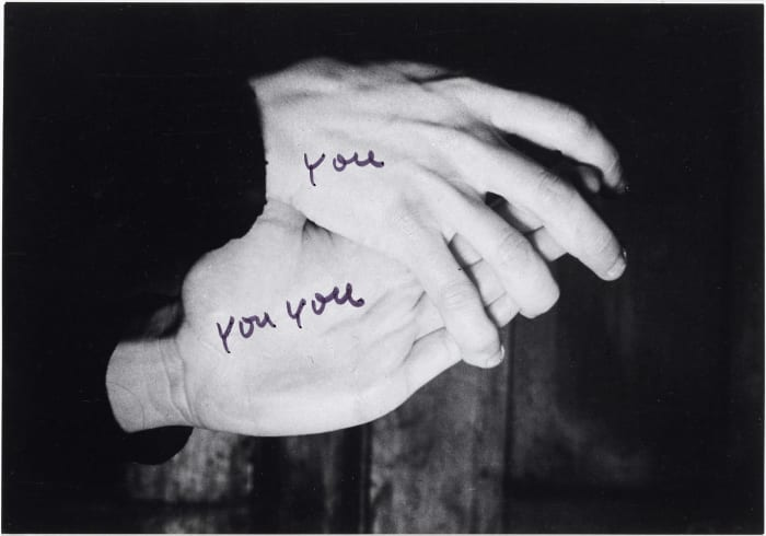 Le mie parole 6 (My Words) by Ketty La Rocca