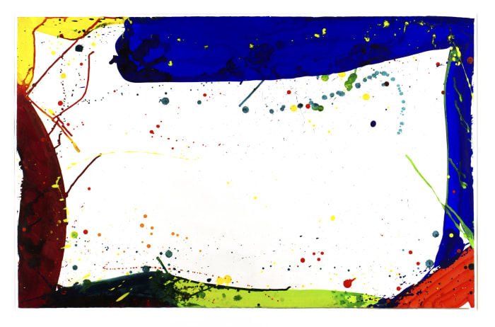 Untitled (SF64-075) by Sam Francis