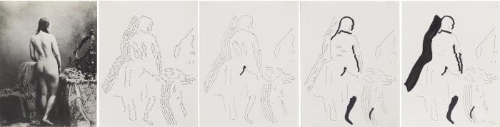Nudo di donna by Ketty La Rocca