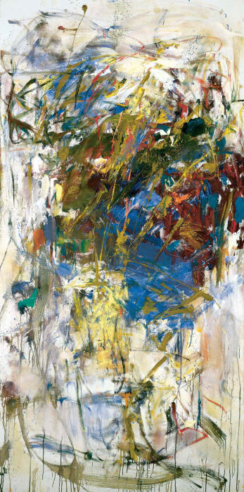 Le Chemin Des Ecoliers by Joan Mitchell