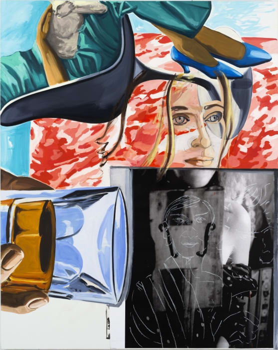 Post Card by David Salle