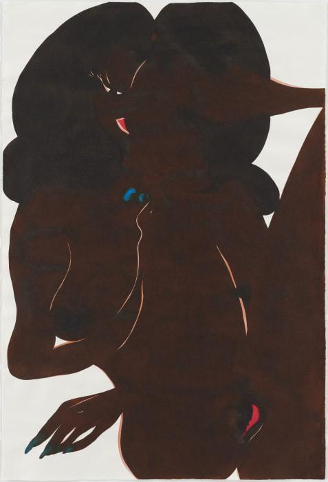 Untitled (Afronude) by Chris Ofili