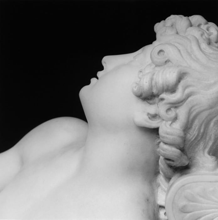 Sleeping Cupid by Robert Mapplethorpe