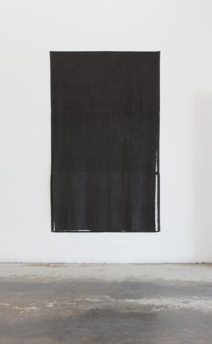 Untitled (black solid/negative) by Paul Lee