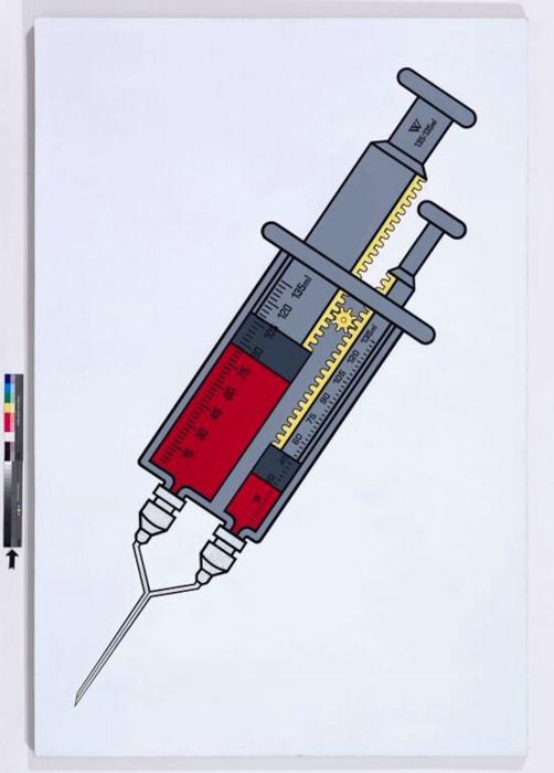 W Non-Isometric Exchange Syringe 135:135ml by Wang Luyan