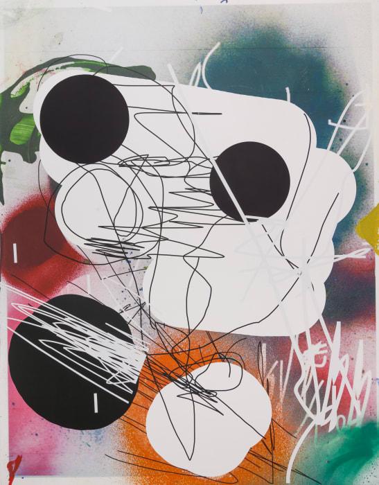 Untitled (head) by Jeff Elrod